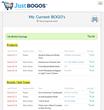 Custom BOGO (Buy One, Get One) Alert Listing by JustBOGOS