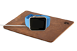 WatchPad for the Apple Watch—shown with Apple Watch charging
