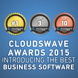 Ranking of the Best Business Software of 2015 by Cloudswave