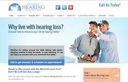 Geneva Hearing Services Website