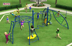 Image of the Burke playground for the Great Play Giveaway