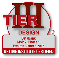 DataBank Receives Uptime Institute Design Certification for Minnesota Data Center