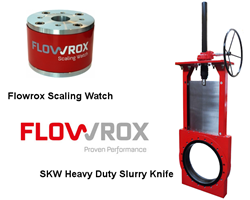 Flowrox Scaling Watch & Flowrox SKW Heavy Duty Slurry Knife