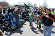 Hundreds of bikers attend the annual Ray Price Brunswick Stew Cook-off to support charity.