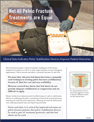 Pelvic Fracture Treatment Clinical Review Paper for Emergency Medical Services