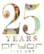 Pryor Fine Art 25th Anniversary Logo