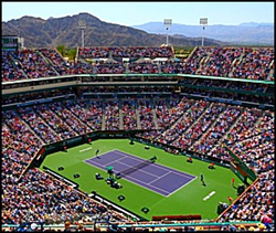 BNP Paribas Open, also known as the 2015 Indian Wells Masters, scheduled for March 9-22 at the Indian Wells Tennis Garden