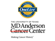 OncLive® Welcomes MD Anderson Cancer Center to Strategic Alliance Partnership Program