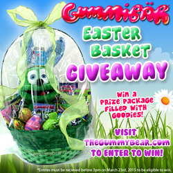4th Annual Gummibär Easter Basket Giveaway