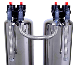 New Scale Reduction Water Conditioner and Filter System Saves Water During Drought Over Traditional Water Softeners