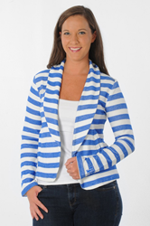 Kentucky Wildcats Striped Fleece Blazer by UG Apparel