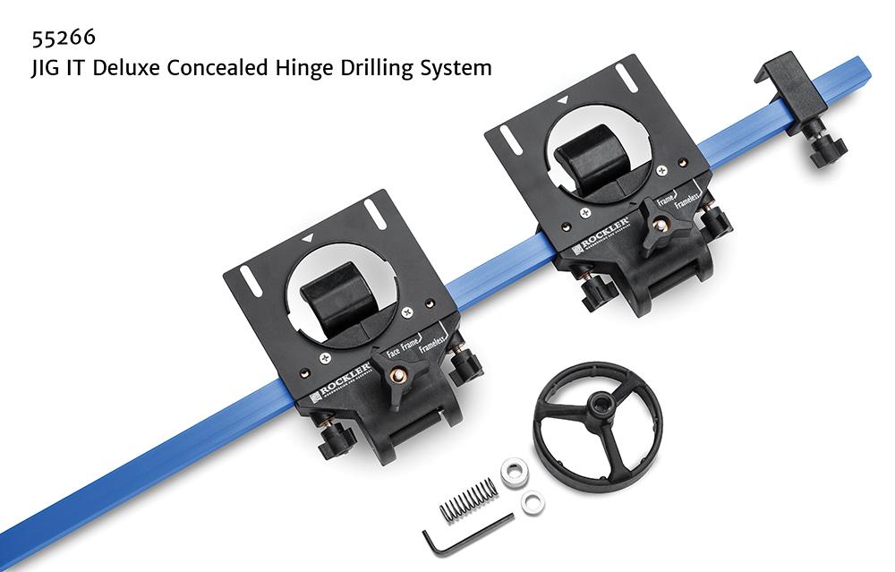 Rockler Simplifies Concealed Hinge Installation Jig It
