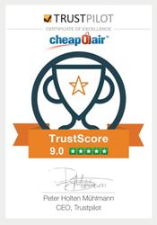 Trustpilot award
