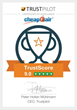 CheapOair Named High Flyers Winner by Trustpilot