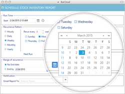 Automated Reporting for Inventory Management