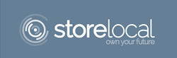Storelocal logo.