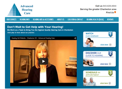 Advanced Hearing Care Website