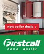 Firstcall Home Assist Scotland's leading provider of energy efficient boilers have teamed up with market leaders Worcester Bosch and Barclays Finance.