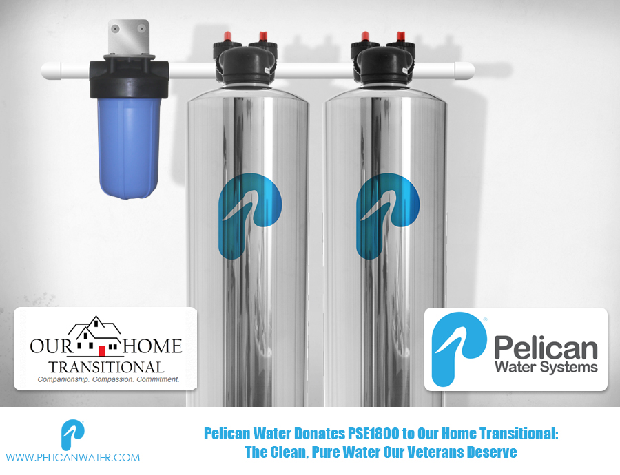 Pelican Water Donates Water Filter And Softener System To