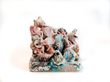 "Karin Karinson Nilsson, ""This Was Not a Sneak Attack,"" 2012. Glazed porcelain, glass, mixed media. Photo by Craig Smith, courtesy Arizona State University Art Museum."