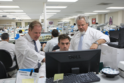 Dr. David Hornbrook (left) and Shaun Keating (right)