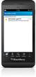 A new feature of LoginTC's BB10 release is language localisation.