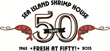 Sea Island Shrimp House, a San Antonio Seafood Icon, Brings Savory Blackening to Fresh Market Fish as Part of Their 'Fresh at Fifty' 50th Anniversary Menu