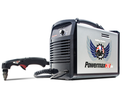 Hypertherm Powermax30 AIR plasma with integrated compressor