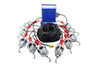 Explosion Proof String Light Set Equipped with Aluminum Hooks for Hanging