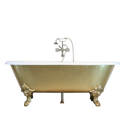 "'The Balmoral' 73"" Cast Iron Double Ended Clawfoot Tub Package by Penhaglion"