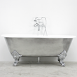 "'The Canterbury66' 66"" Cast Iron Double Ended Clawfoot Tub Package from Penhaglion"