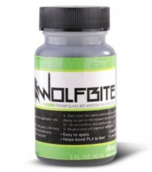Bottle of WolfBite Nano 3D Printing with PLA