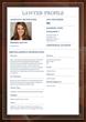 National Legal Leaderboard Profile Screenshot