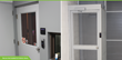 Suprema BioLite Net installed on interior doors.