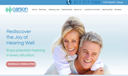 Carson Hearing Care Website
