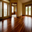 Clear Hard Wood Floor Refinishing