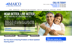 Maico Audiological Services Website