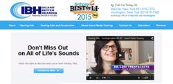 Island Better Hearing Website