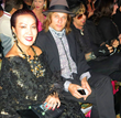 Sue Wong with Chris Pitman from Guns N' Roses