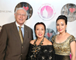 Sue Wong and Los Angeles County Supervisor Mike Antonovich and wife Christine