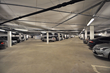 The underground parking garage (500-car capacity) of the Aker Solutions facility in Stavanger, Norway.