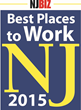 NJBIZ Honors the 2015 Best Places to Work in New Jersey