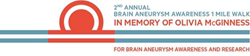 2nd Annual Walk for Brain Aneurysm Awareness in Memory of Olivia McGinness