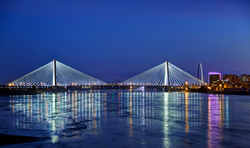 HNTB-designed I-70 Mississippi River Bridge