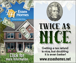 """Twice as Nice"" Tax Promotion Flier"