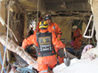 Scientology Volunteer Ministers, members of the Los Topos search and rescue group, responded to the January 30, 2015, blast that destroyed the Cuajimalpa Maternity Hospital in Mexico City.