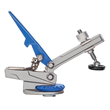 Automatically adjusts to the workpiece thickness to provide quick, consistent clamping.