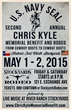 Chris Kyle Memorial Rodeo Poster