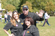 Phil Valentine with Chiara Maggiore and Stacy Rosay at Recovery Walks! 2014.