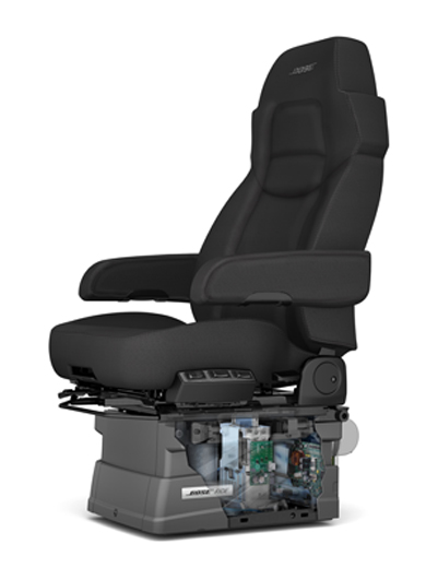 Dart Network Offers Bose Ride® Seats to Truck Drivers